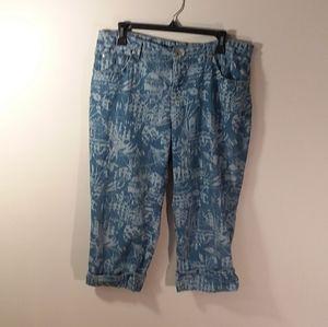 K171, Bandolino, mandir, size 10, Capri jeans